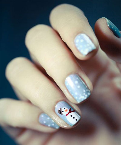 18 snowman nail art designs ideas trends stickers 2016 18 snowman nail art designs ideas trends stickers prinsesfo Images