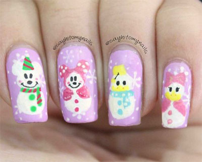 18-Snowman-Nail-Art-Designs-Ideas-Trends-Stickers-2016-Winter-Nails-18