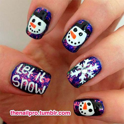 18-Snowman-Nail-Art-Designs-Ideas-Trends-Stickers-2016-Winter-Nails-4