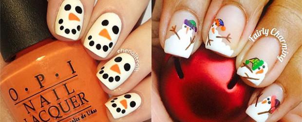 18-Snowman-Nail-Art-Designs-Ideas-Trends-Stickers-2016-Winter-Nails-F