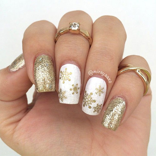 20 cute simple easy winter nail art designs ideas 2015 2016 20 cute simple easy winter nail art designs prinsesfo Images