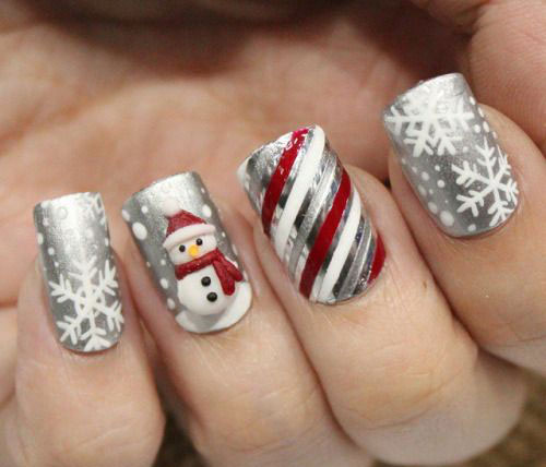 20 cute simple amp easy winter nail art designs amp ideas