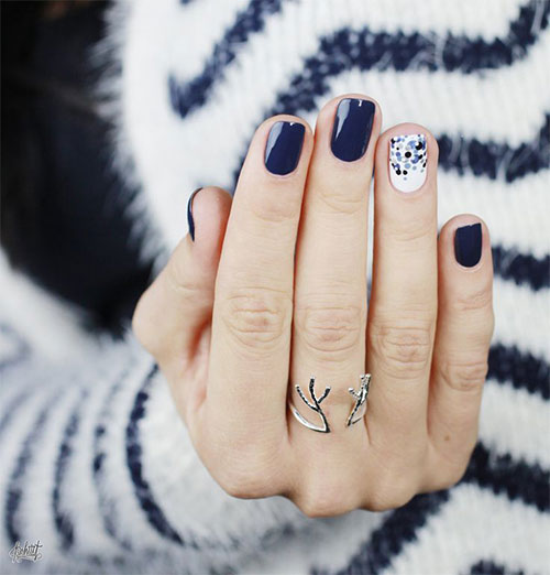 20 Cute Simple Amp Easy Winter Nail Art Designs Amp Ideas 2015 2016 Winter Nails Fabulous