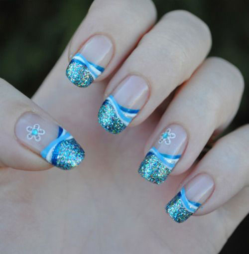 20-Cute-Simple-Easy-Winter-Nail-Art-Designs- - Winter Nail Design Graham Reid
