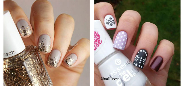 20+ Cute, Simple & Easy Winter Nail Art Designs & Ideas 2015/ 2016 | Winter  Nails | Fabulous Nail Art Designs - 20+ Cute, Simple & Easy Winter Nail Art Designs & Ideas 2015/ 2016