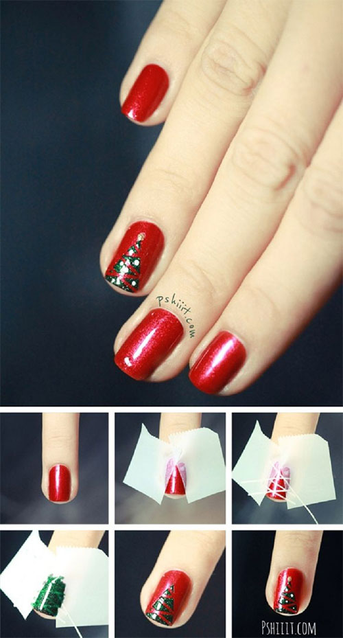 20-Easy-Simple-Christmas-Nail-Art-Tutorials-For-Beginners-Learners-2015-10