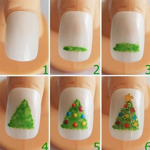 Christmas Nail Art Designs for Beginners