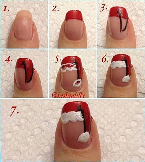 20-Easy-Simple-Christmas-Nail-Art-Tutorials-For-Beginners-Learners-2015-18