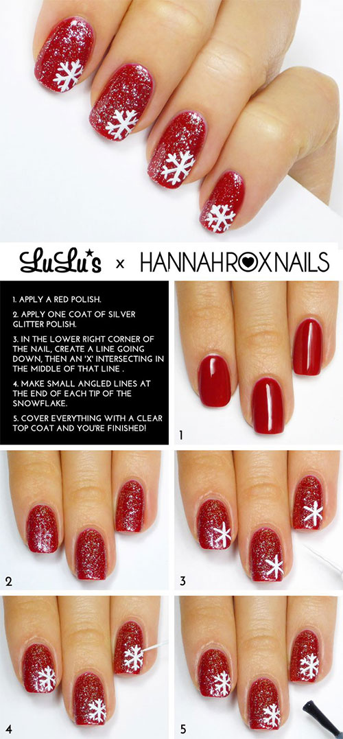 20-Easy-Simple-Christmas-Nail-Art-Tutorials-For-Beginners-Learners-2015-8