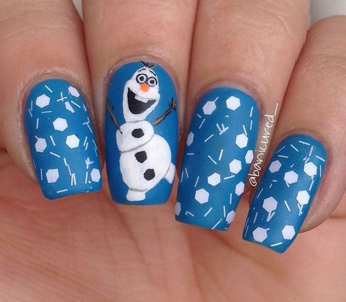 Art Designs: 25+ Winter Nail Art Designs, Ideas, Trends & Stickers 2016