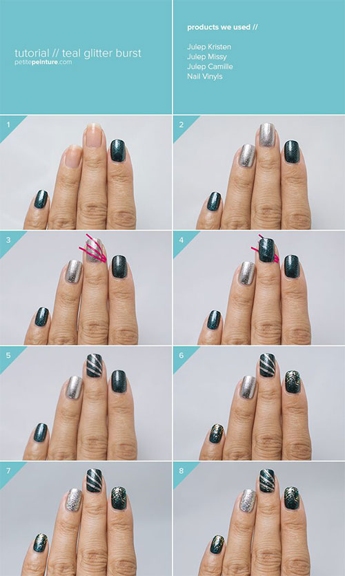 Step-By-Step-Happy-New-Year-Nail-Art-Tutorials-For-Beginners-2015-2016-5