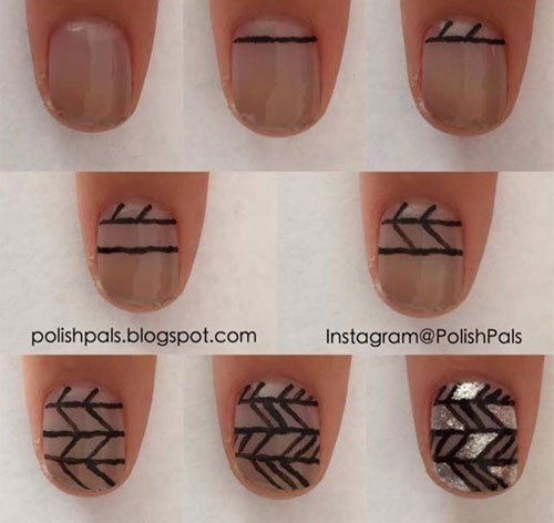Step-By-Step-Happy-New-Year-Nail-Art-Tutorials-For-Beginners-2015-2016-7
