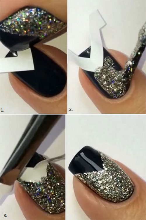 Step-By-Step-Happy-New-Year-Nail-Art-Tutorials-For-Beginners-2015-2016-8