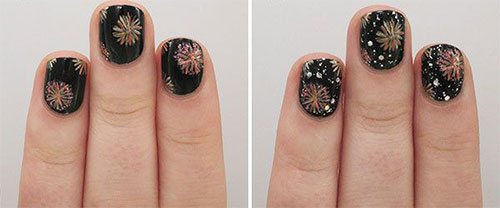 Step-By-Step-Happy-New-Year-Nail-Art-Tutorials-For-Beginners-2015-2016-9