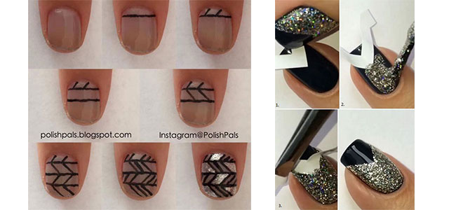 Step-By-Step-Happy-New-Year-Nail-Art-Tutorials-For-Beginners-2015-2016-F