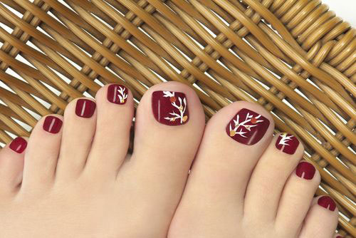 10-Winter-Toe-Nail-Art-Designs-Ideas-Trends- - 10+ Winter Toe Nail Art Designs, Ideas, Trends & Stickers 2016
