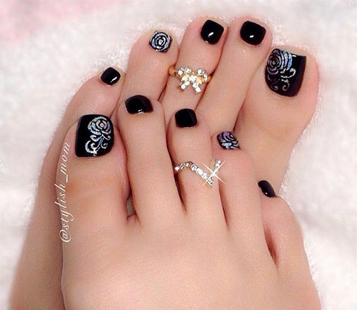 10+ Winter Toe Nail Art Designs, Ideas, Trends & Stickers 2016 ...