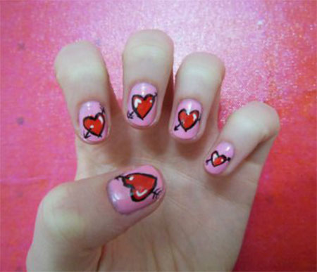 12-Red-Love-Heart-Nail-Art-Designs-Ideas-Stickers-2016-3