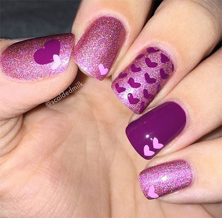 12-Valentines-Day-Acrylic-Nail-Art-Designs-Ideas-2016-13