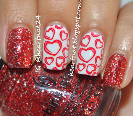 12-Valentines-Day-Acrylic-Nail-Art-Designs-Ideas-2016-14