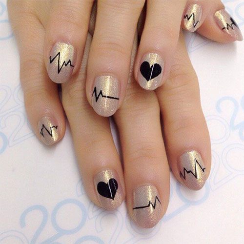 12-Valentines-Day-Heartbeat-Nail-Art-Designs-Ideas-Stickers-2016-1