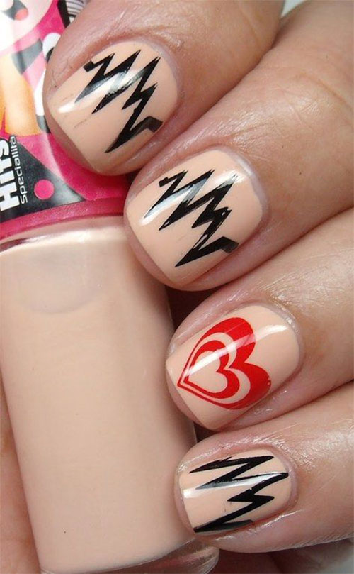12-Valentines-Day-Heartbeat-Nail-Art-Designs-Ideas-Stickers-2016-3