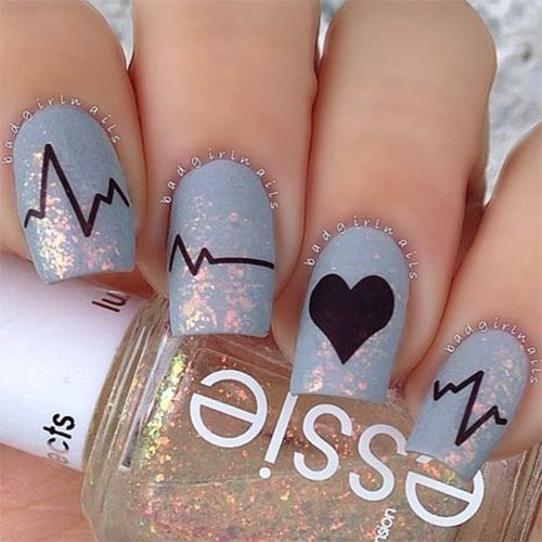 12-Valentines-Day-Heartbeat-Nail-Art-Designs-Ideas-Stickers-2016-4