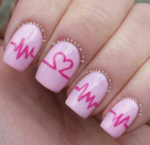 12-Valentines-Day-Heartbeat-Nail-Art-Designs-Ideas-Stickers-2016-7