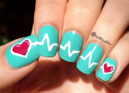 12-Valentines-Day-Heartbeat-Nail-Art-Designs-Ideas-Stickers-2016-9