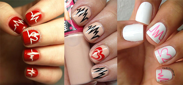 12-Valentines-Day-Heartbeat-Nail-Art-Designs-Ideas-Stickers-2016-F