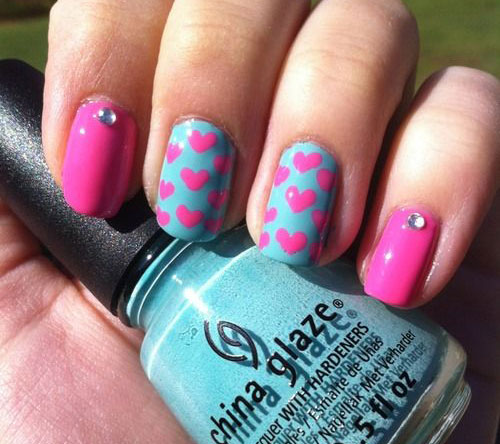 12-Valentines-Day-Little-Heart-Nail-Art-Designs-Ideas-2016-3