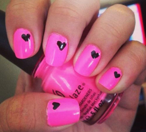 12-Valentines-Day-Little-Heart-Nail-Art-Designs-Ideas-2016-4