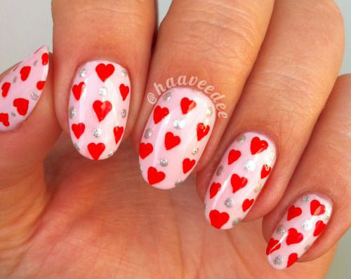 12-Valentines-Day-Little-Heart-Nail-Art-Designs-Ideas-2016-9