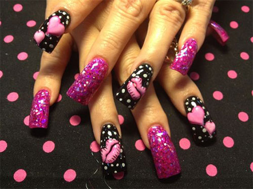 15-Amazing-3D-Valentines-Day-Nail-Art-Designs-Ideas-Stickers-2016-3d-Nails-2