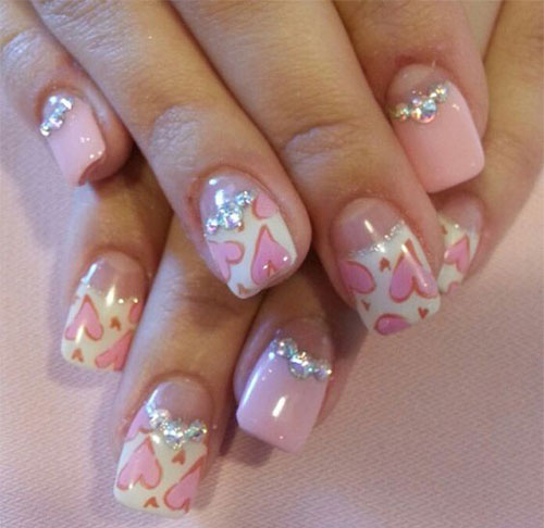 Heart Nail Art: 15 Amazing 3D Valentine's Day Nail Art Designs, Ideas