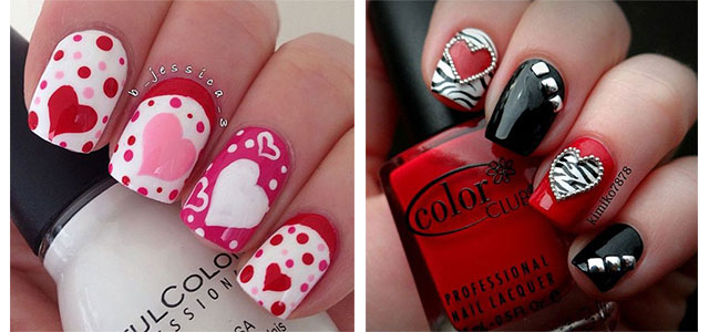 15 Amazing 3D Valentine's Day Nail Art Designs, Ideas & Stickers 2016 | 3d  Nails | Fabulous Nail Art Designs - 15 Amazing 3D Valentine's Day Nail Art Designs, Ideas & Stickers