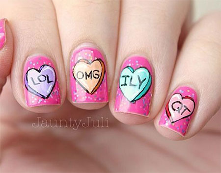 15-Valentines-Day-Candy-Heart-Nail-Art-Designs-Ideas-Stickers-2016-14