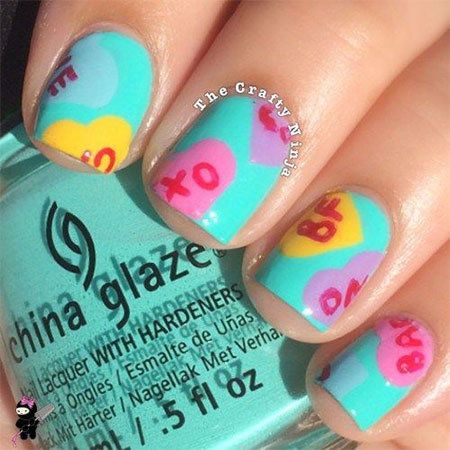 15-Valentines-Day-Candy-Heart-Nail-Art-Designs-Ideas-Stickers-2016-3