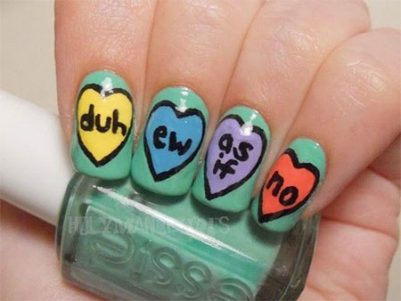 15-Valentines-Day-Candy-Heart-Nail-Art-Designs-Ideas-Stickers-2016-5