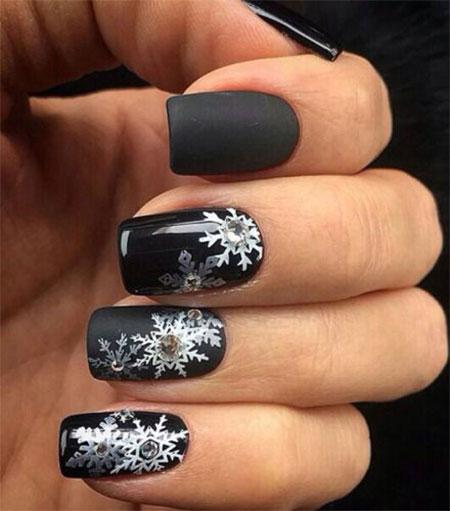 15-Winter-Black-Nail-Art-Designs-Ideas-Stickers-2016-Winter-Nails-11