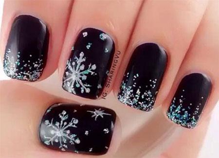 15-Winter-Black-Nail-Art-Designs-Ideas-Stickers-2016-Winter-Nails-14