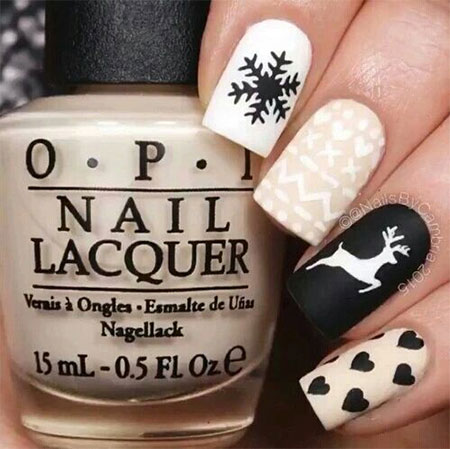 15-Winter-Black-Nail-Art-Designs-Ideas-Stickers-2016-Winter-Nails-3