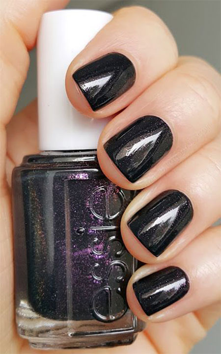 15-Winter-Black-Nail-Art-Designs-Ideas-Stickers-2016-Winter-Nails-4