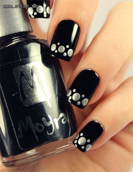 15-Winter-Black-Nail-Art-Designs-Ideas-Stickers-2016-Winter-Nails-5