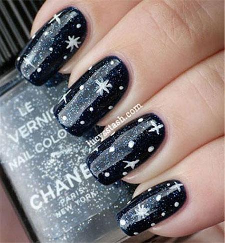 15-Winter-Black-Nail-Art-Designs-Ideas-Stickers-2016-Winter-Nails-7