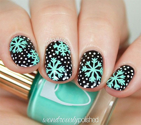 15-Winter-Black-Nail-Art-Designs-Ideas-Stickers-2016-Winter-Nails-9