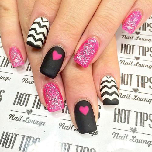 50 valentines day nail art designs ideas trends