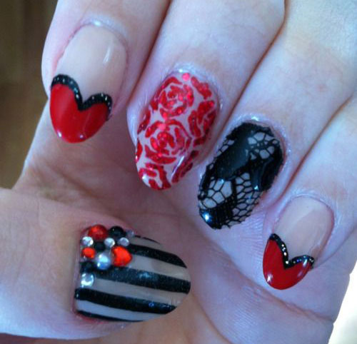 50-Valentines-Day-Nail-Art-Designs-Ideas-Trends-2016-40