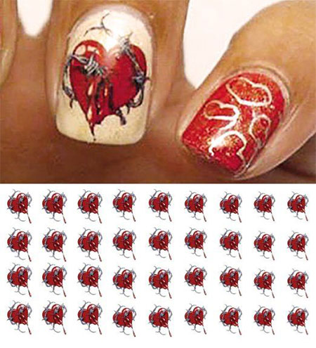 15-Amazing-Valentines-Day-Nail-Art-Stickers-For-Girls-2016-4