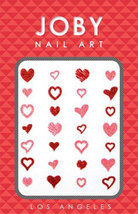 15-Amazing-Valentines-Day-Nail-Art-Stickers-For-Girls-2016-9